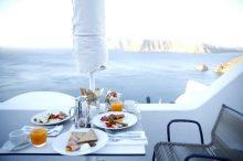 海辺の朝食